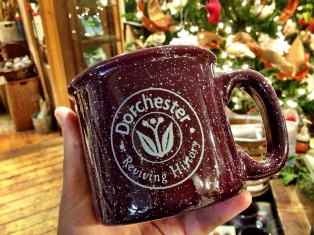 Dorchester ' Reviving History' Mug