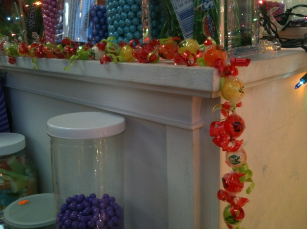 Mae's Hand-Tied Candy Garland